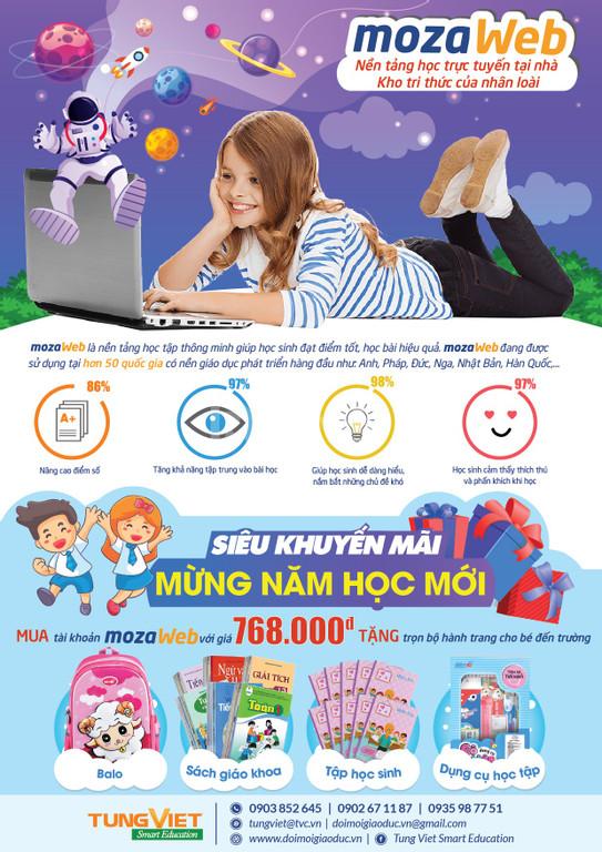MozaWeb Kho tri thức 3D cho học sinh tự học tại nhà  (ảnh 1)