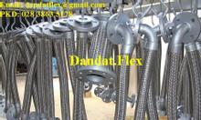 Khớp nối mềm inox nối bích DN50, khớp nối giảm chấn, khớp nối mềm inox