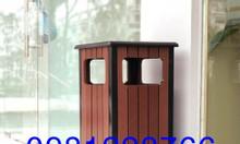 Báo giá thùng rác gỗ giá rẻ