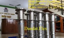 Ống mềm inox chịu nhiệt - nhà sản xuất Dân Đạt - Khớp nối mềm inox