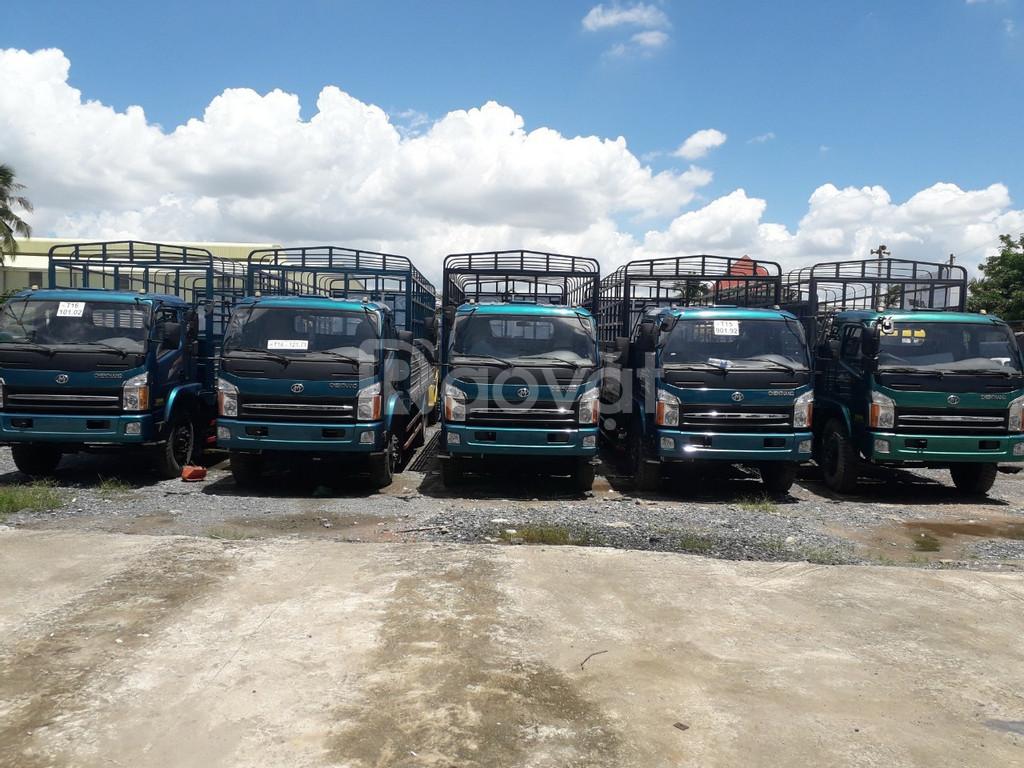 Mua xe tải Chiến Thắng 7 tấn thùng dài 6m7