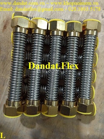 Ống dẫn nước inox 304, dây dẫn nước nóng lạnh inox, ống cấp nước mềm