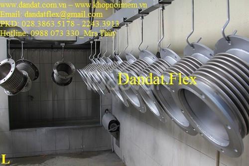 Ống bô xả máy phát điện, khớp nối mềm inox cho máy phát điện, ống inox