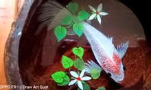 Tranh cá vàng 3D - 3D Fish Painting