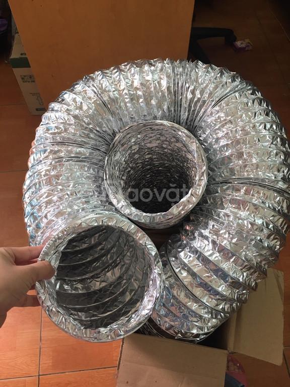 Bán ống gió mềm nhôm không bảo ôn và có bảo ôn nhập khẩu từ Hàn Quốc