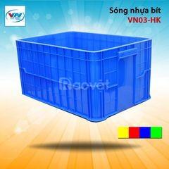 Rổ nhựa 3T1 dùng trong kho lạnh