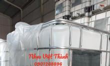 Bồn nhựa 1 khối (Thùng nhựa IBC 1000L,Tank nhựa 1 khối,Tank 1000l)