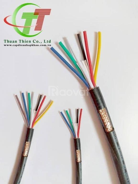 Cáp điều khiển sợi đồng nhuyễn có lưới 0.75mm2