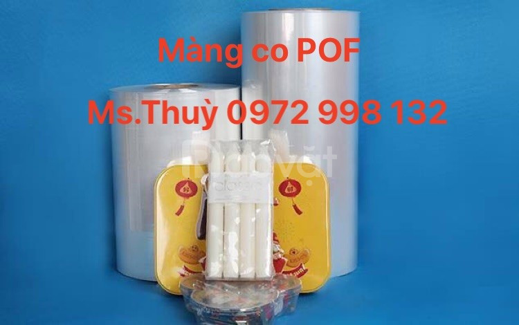 Gia công màng co POF, PVC theo yêu cầu của sản phẩm uy tín, chất lượng
