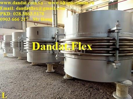 Giãn nở nhiệt, ống bù trừ giãn nở nhiệt, khớp giãn nở nhiệt inox 304