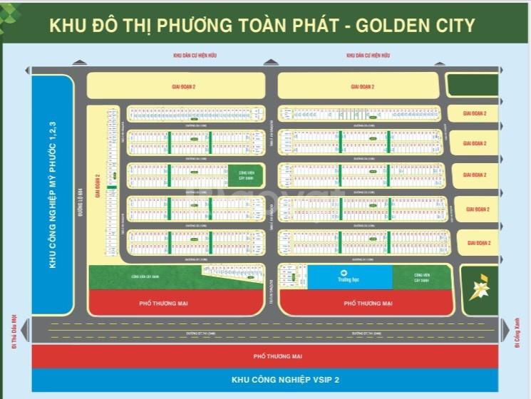 Dự án khu đô thị Phương Toàn Phát  Golden City