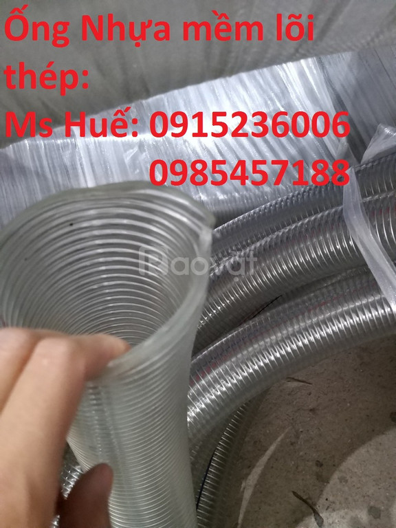 Ống nhựa mềm lõi thép, ống nhựa lõi thép d90, d100, d110... d150, d300