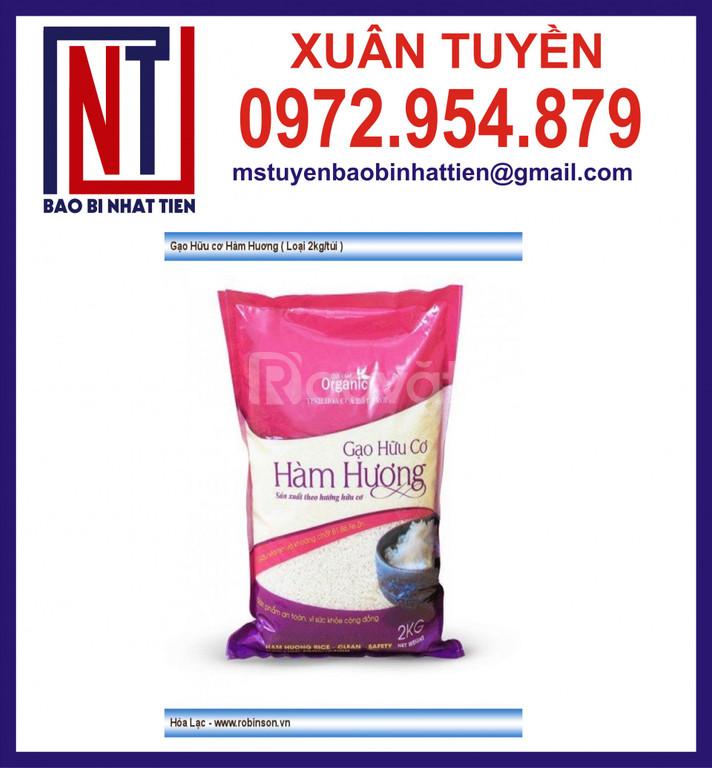Bao bì màng phức hợp đựng gạo 1kg, 2kg, 5kg