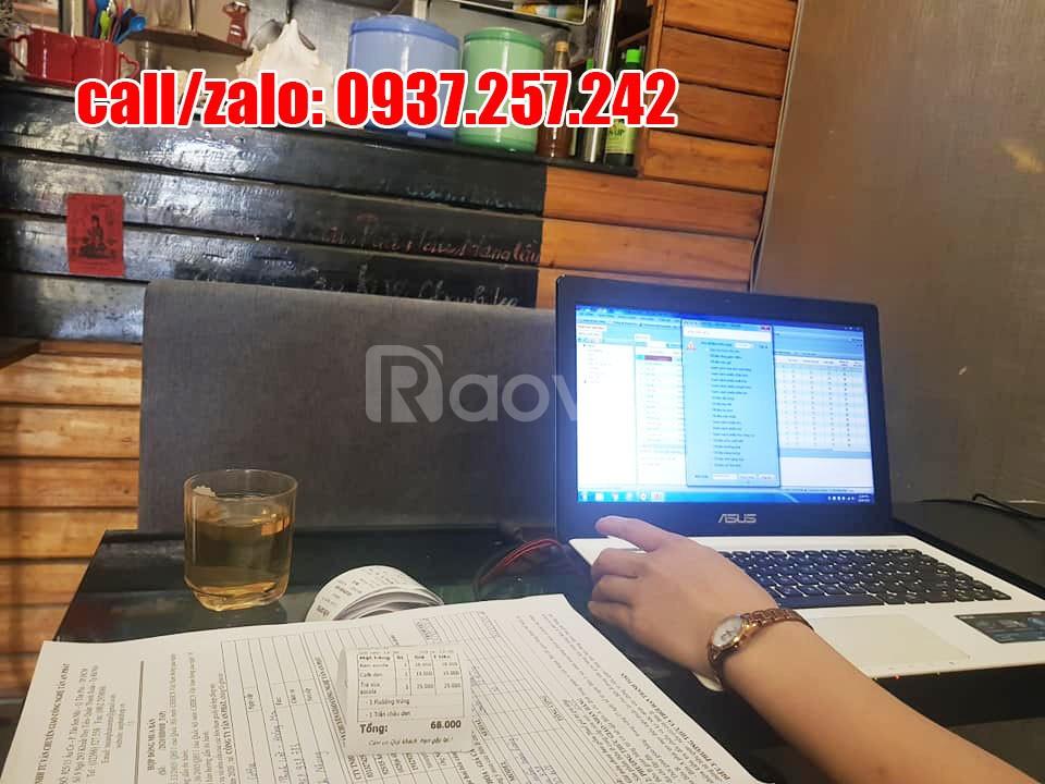 Phần mềm tính tiền và máy in bill giá rẻ cho quán cafe nhỏ