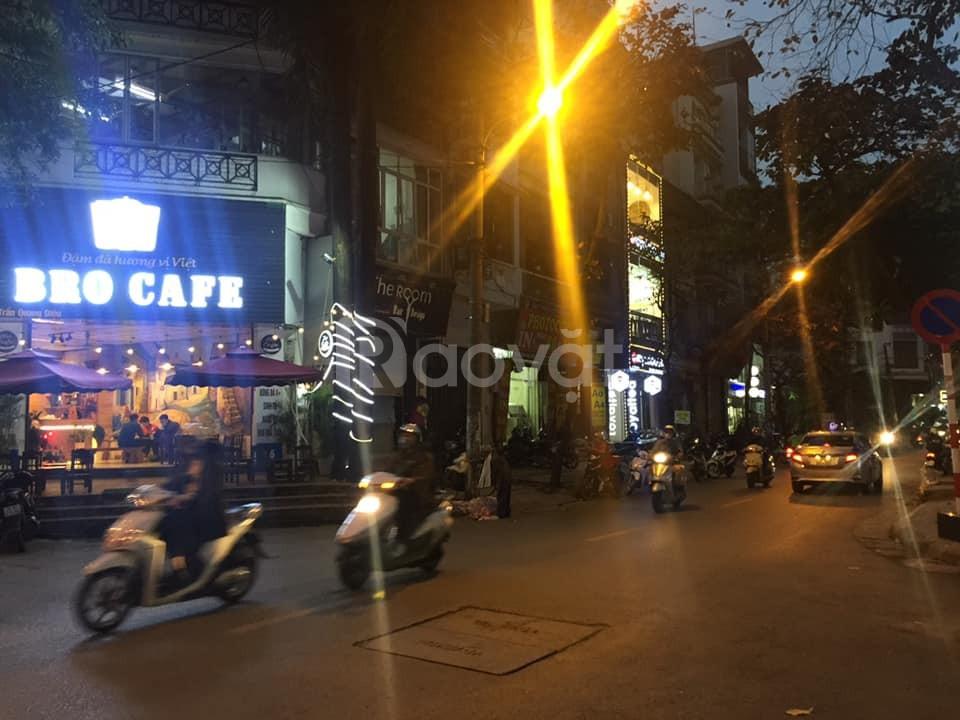 Bán mặt phố Trần Quang Diệu 90m2x7tầng mặt tiền 5m giá 32.8 tỷ