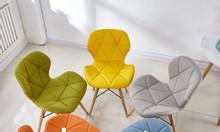 Ghế tam giác bọc vải bố GLM12B - Ghế trang điểm, ghế cafe, ghế ăn