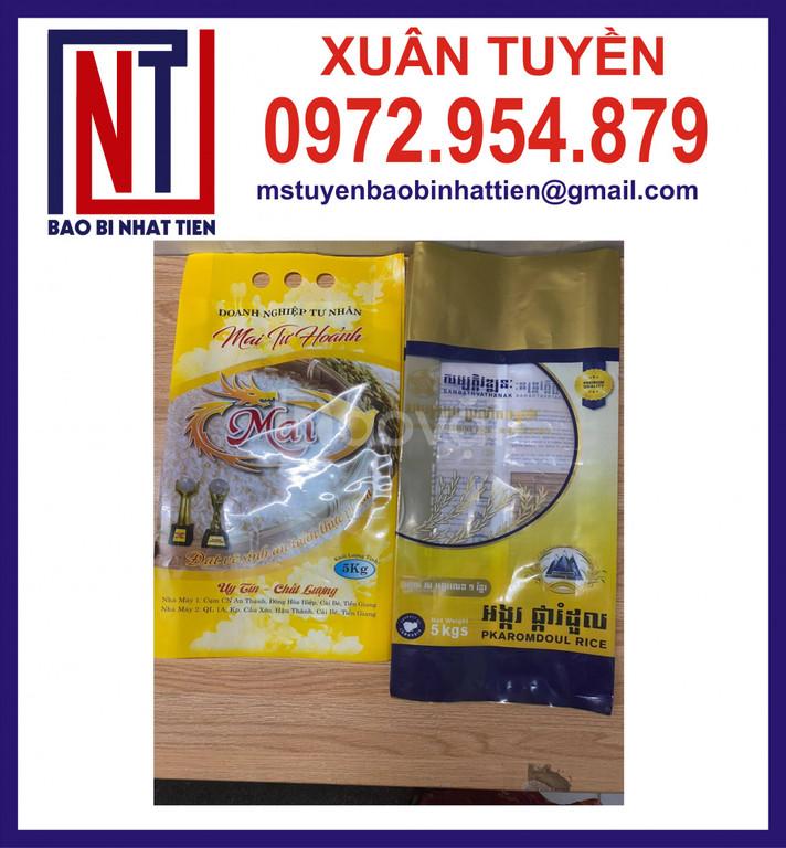 Bao bì gạo PA/PE 1kg, 2kg, 5kg
