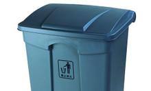 Thùng rác nhựa 68L HDPE bền, đẹp