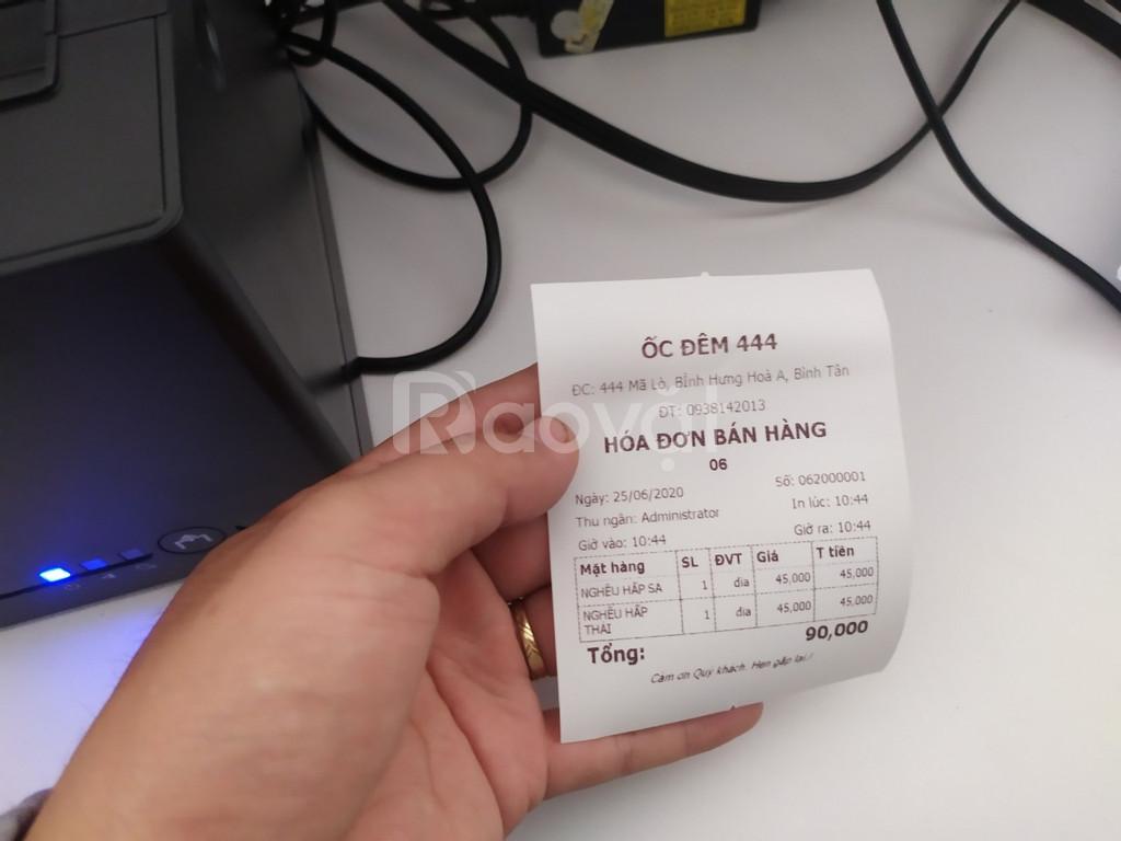 Combo máy tính tiền giá rẻ cho quán ốc Sài Gòn DT: 0886.63.73.74