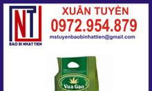 Sản xuất túi gạo 1kg, 2kg
