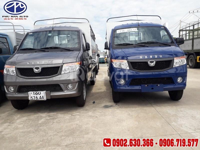 Bán xe tải kenbo 990kg thùng 2m6