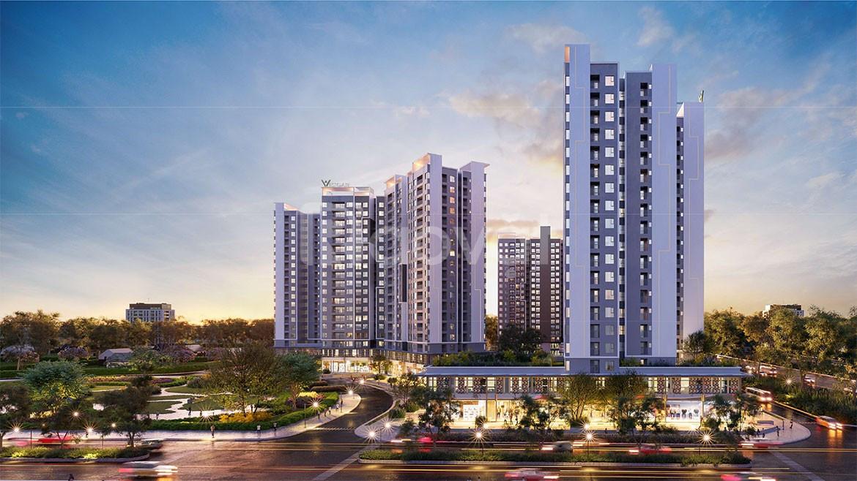 Bán căn hộ cao cấp mặt tiền đường Nguyễn Văn Linh ngay Khu hành chính