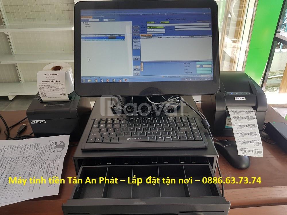 Máy tính tiền giá rẻ cho cửa hàng thời trang tại Kiên Giang  (ảnh 5)