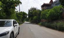 Đất sổ đỏ 2749 m2- Bãi Dài, Tiến Xuân, Thạch Thất, mặt đường 10m, view núi, 3,4tr/m2