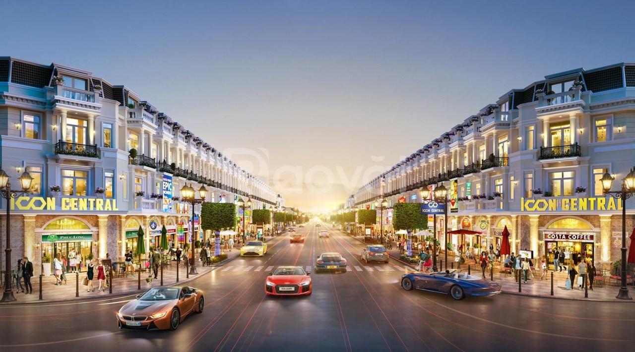 Shop Office 4 mặt tiền đường, 1 trệt, 2 lầu, sân thượng 2,1 tỷ