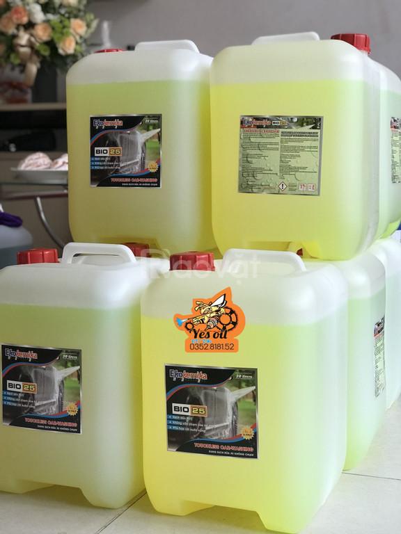 Dung dịch rửa xe không chạm Ekokemika Bio 25- 20L