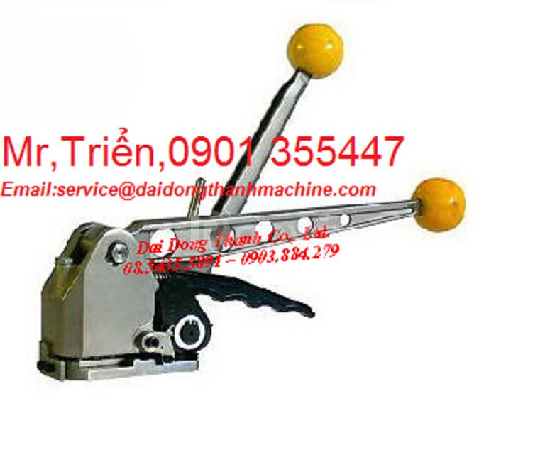 Máy đóng đai thép cầm tay P-383 tốt M.Bắc, M.Trung, M.Nam, C.Nguyên