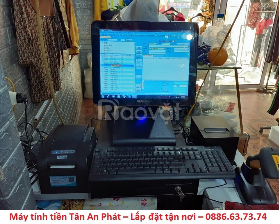 Máy tính tiền giá rẻ cho cửa hàng thời trang tại Kiên Giang  (ảnh 4)