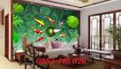 Gạch tranh 3d- tranh ốp tường phòng khách (ảnh 3)