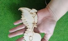 Đồ chơi gỗ tô màu cho trẻ em mẫu khủng long