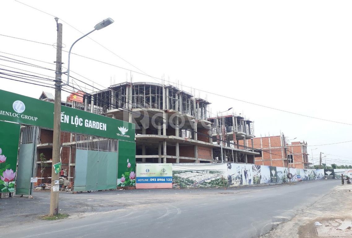 Nhà phố chợ Nhơn Trạch, trả góp 2 năm không lãi suất, tiện kinh doanh