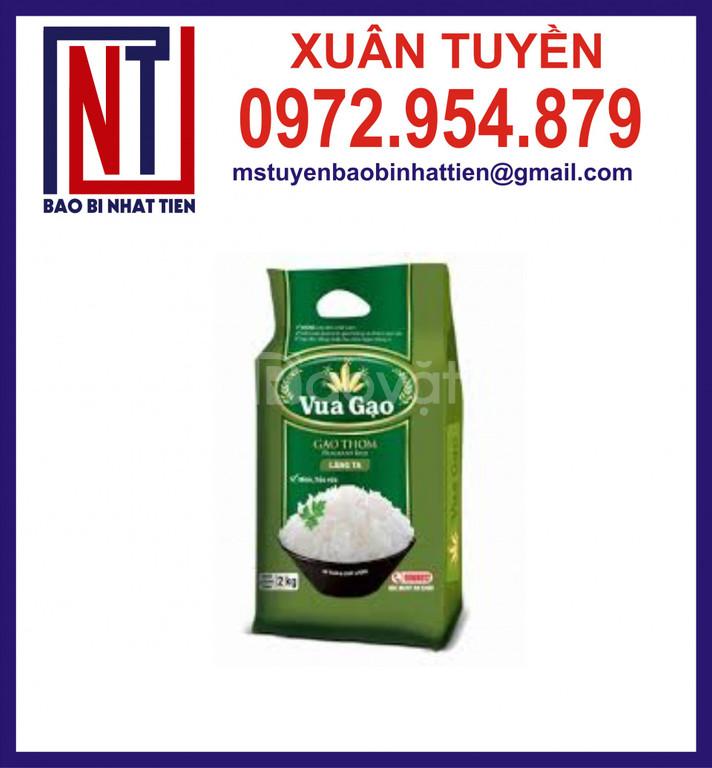 Túi màng ghép phức hợp, túi đựng gạo 2kg