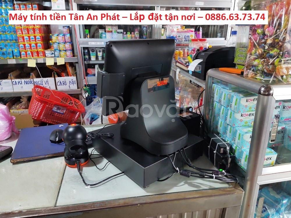 Trọn bộ máy tính tiền dành cho Cửa hàng tạp hóa tại Kiên Giang