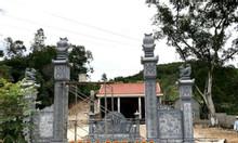 Chiêm ngưỡng Top 3 mẫu cổng nhà thờ họ đẹp đơn giản bằng đá khối