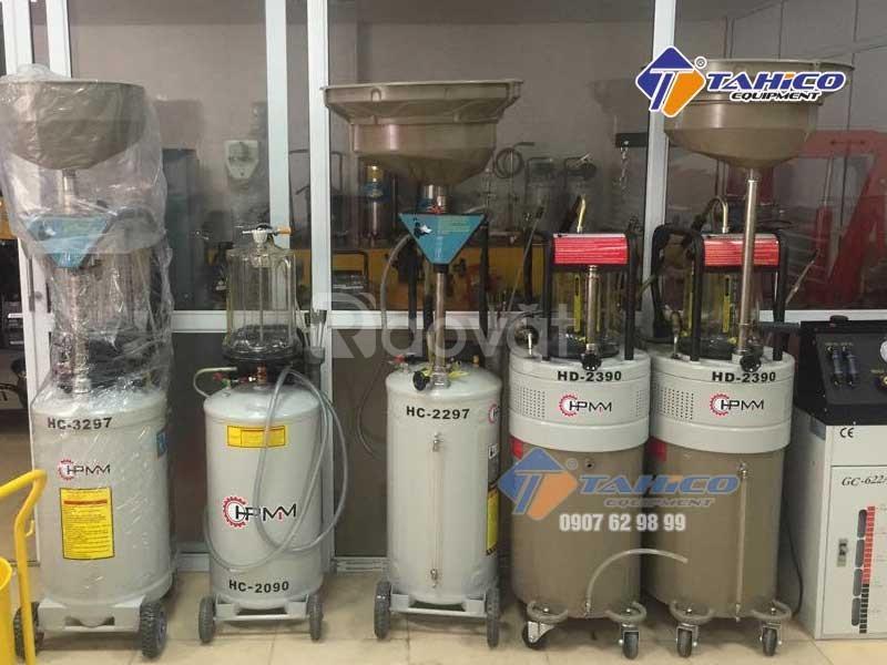 Máy hút dầu thải ô tô dùng khí nén tại Bảo Lộc Lâm Đồng