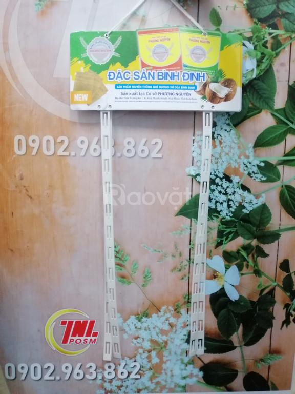 Hanger dây nhựa, vỉ treo dây nhựa quảng cáo, hanger POSM (ảnh 4)
