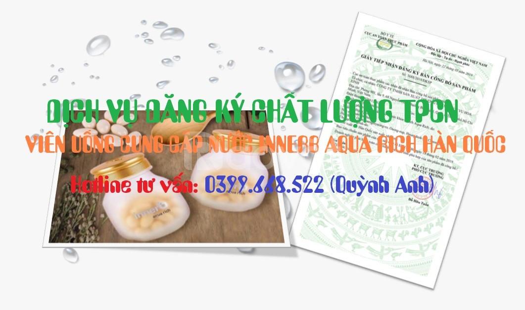 Dịch vụ đăng ký chất lượng TPCN viên uống cung cấp nước nhập khẩu
