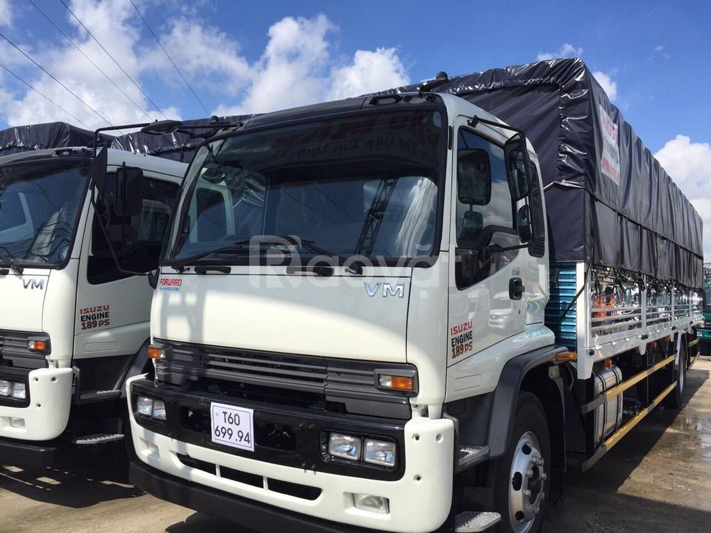 Xe tải isuzu vm 6T7 thùng dài 9.8m giá tốt hiện nay