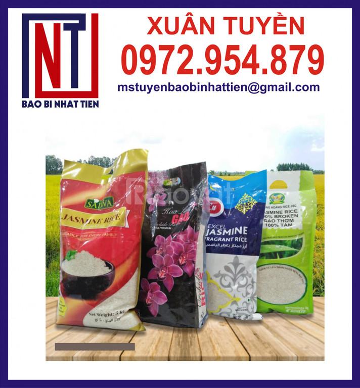 Cung cấp bao bì gạo 5kg tại tỉnh Hậu Giang