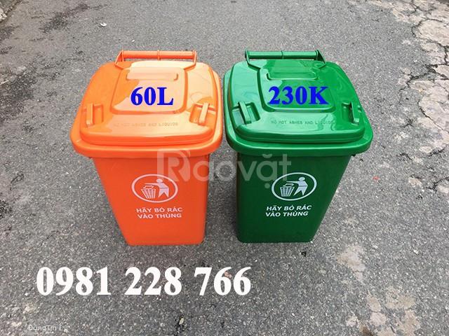 Vai trò của thùng rác nhựa công cộng 60l trong đời sống