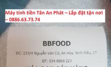 Máy tính tiền giá rẻ cho siêu thị mini tại Rạch Giá