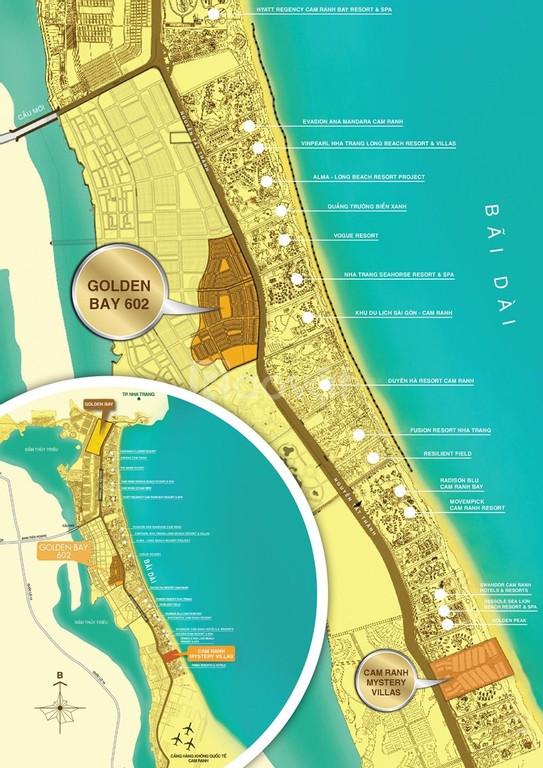 Chính chủ cần bán nhanh một số nền Golden Bay giai đoạn 2, giá tốt