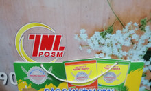 Hanger dây nhựa, vỉ treo dây nhựa quảng cáo, hanger POSM