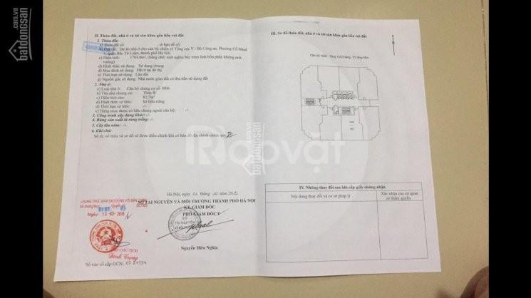 Bán chung cư Tổng Cục 5 Bộ Công An, đường Phạm Văn Đồng 85,5m 3PN sđcc (ảnh 4)
