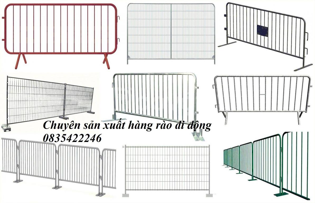 Hàng rào di động, hàng rào chắn di động
