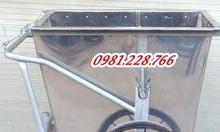 Tìm hiểu chung về xe đẩy rác 400l thông dụng hiện nay